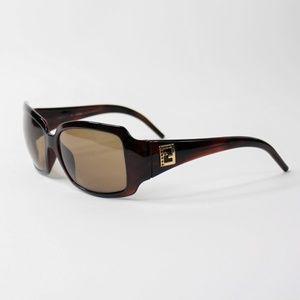 Vintage Fendi Frame Sunglasses FS 342R Cold Insert